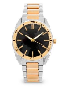 Zlaté pánské ocelové hodinky Bolf 5690-2