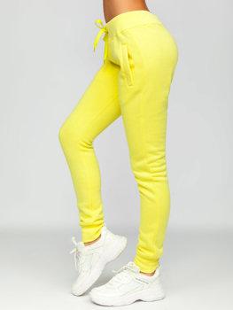 Žluté dámské tepláky Bolf CK-01