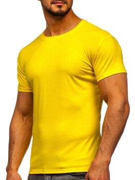 Žluto-neonové tričko bez potisku Bolf 2005