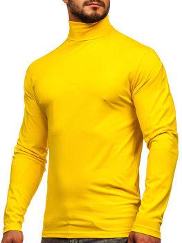 Žlutý pánský rolák bez potisku Bolf S6963