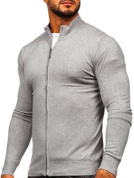 kamelový pánský svetr na zip Bolf YY07