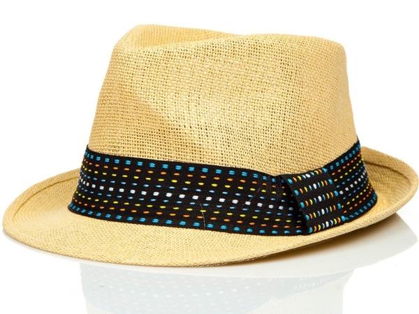 Béžový pánský klobouk Bolf KAP216