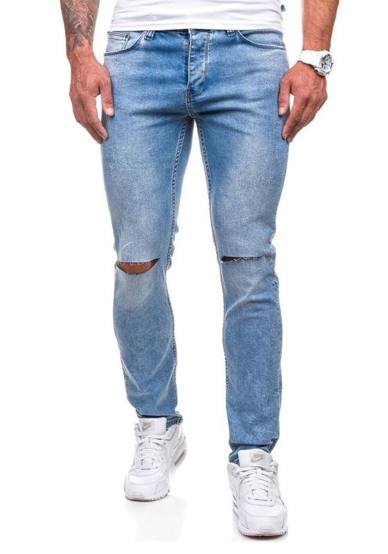 Blankytné pánské džínové kalhoty Bolf 272