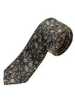 Černá pánská elegantní kravata Bolf K100