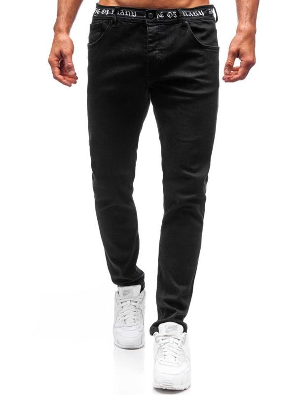 Černé pánské džíny Bolf 3036