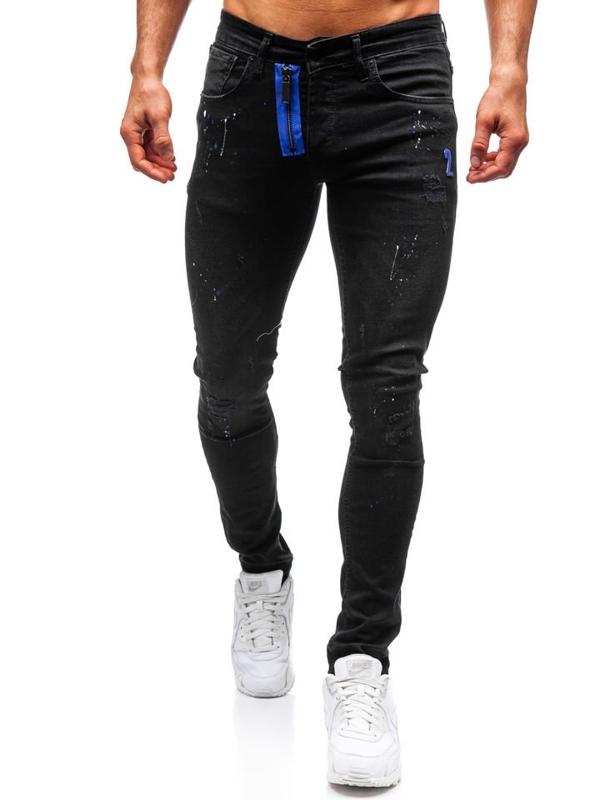 Černé pánské džíny Bolf 9244