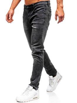 Černé pánské džíny Bolf KX237
