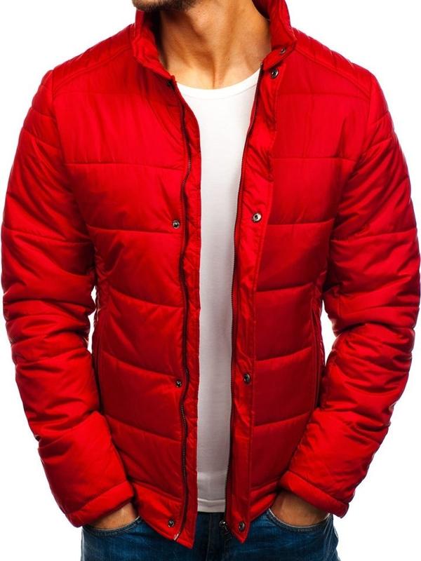Červená pánská zimní bunda Bolf 83338