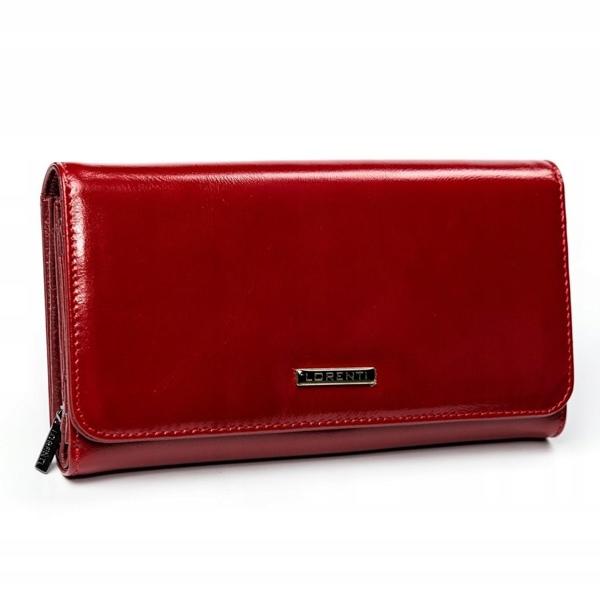 Dámská červená kožená peněženka 2900