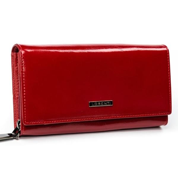 Dámská červená kožená peněženka 2903