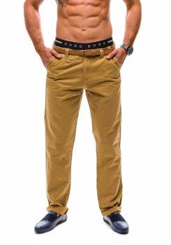 Kamelové pánské chino kalhoty Bolf 6185