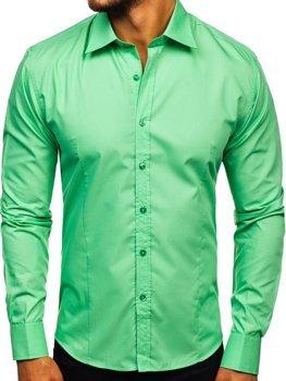 Pánská košile BOLF 1703-2 mátová