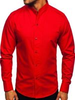 Pánská košile BOLF 5702 červená
