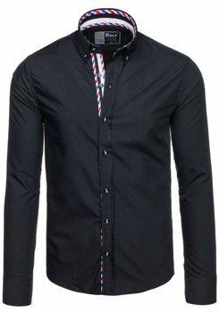 Pánská košile BOLF 5820 černá