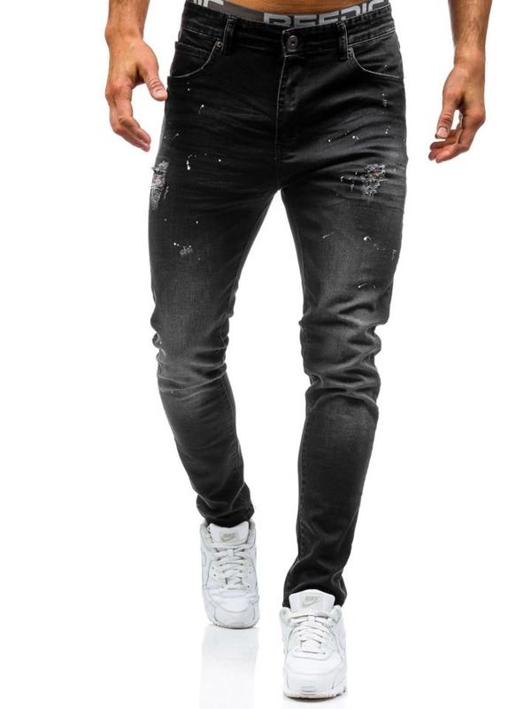 Pánské černé džíny Bolf 0163