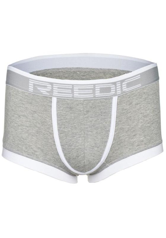 Šedo-bílé pánské boxerky Bolf G510
