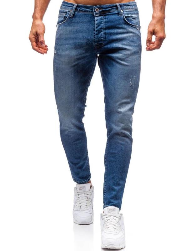 Tmavě modré pánské džíny Bolf 7158