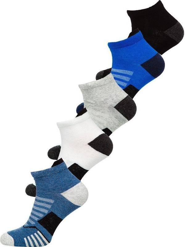 Vícebarevné pánské ponožky Bolf X10135-5P 5 PACK