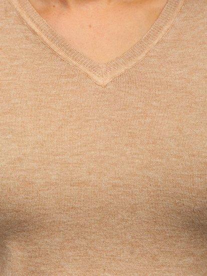 Béžový dámský svetr Bolf AL0204L