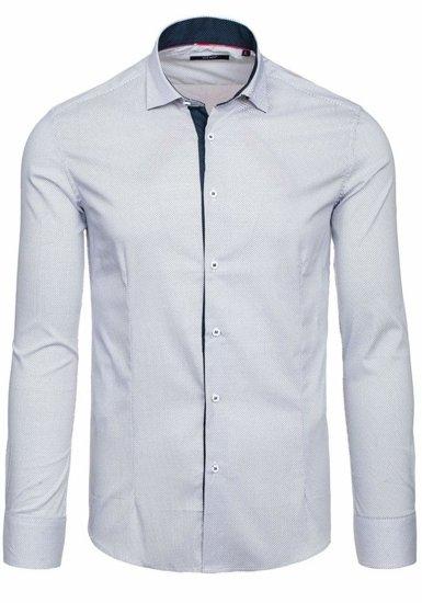 Bílá pánská košile Bolf 7185