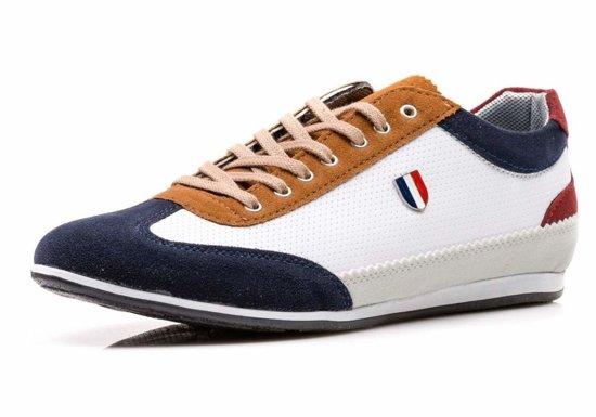 Bílá pánská obuv Bolf 711