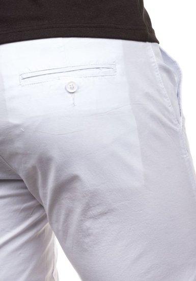 Bílé pánské kraťasy Bolf 3508