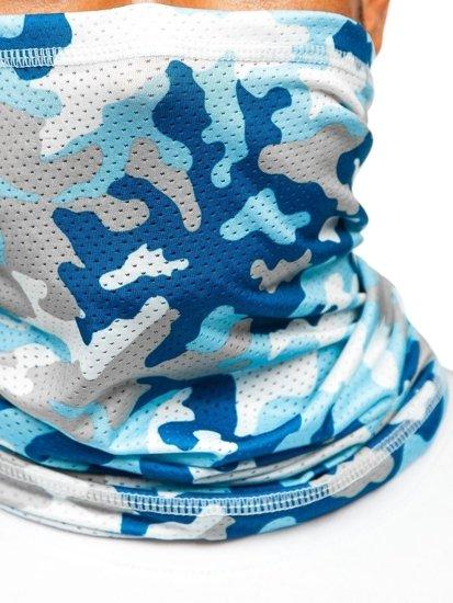 Blankytný pánský maskáčový šátek Bolf YW0505M