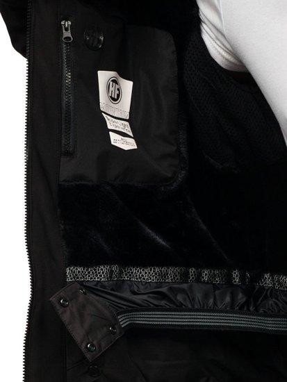 Černá pánská lyžařská bunda Bolf 1521