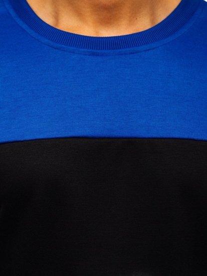Černá pánská mikina bez kapuce Bolf JZ11053