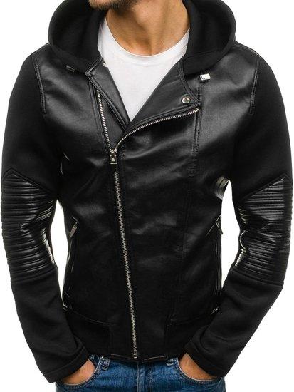Černá pánská přechodová bunda Bolf 2295