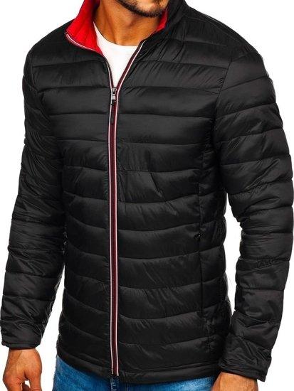 Černá pánská sportovní zimní bunda Bolf LY1017