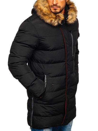 Černá pánská zimní parka Bolf 5981