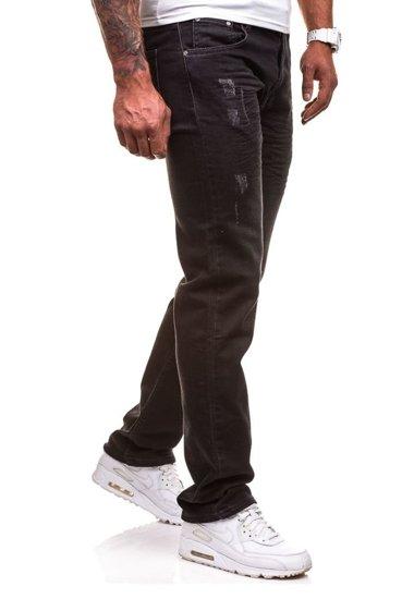 Černé pánské džíny Bolf 4447