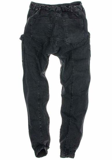 Černé pánské kalhoty Bolf 191