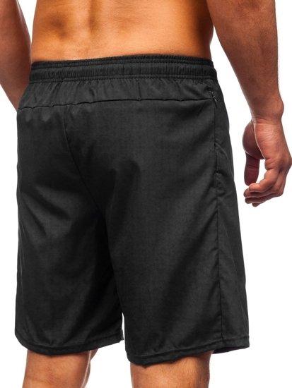 Černé pánské plavecké šortky Bolf YW02067