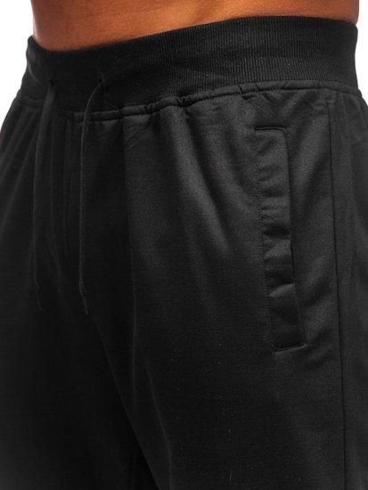 Černé pánské tepláky Bolf HH01