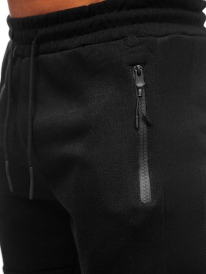 Černé pánské tepláky Bolf JX8957