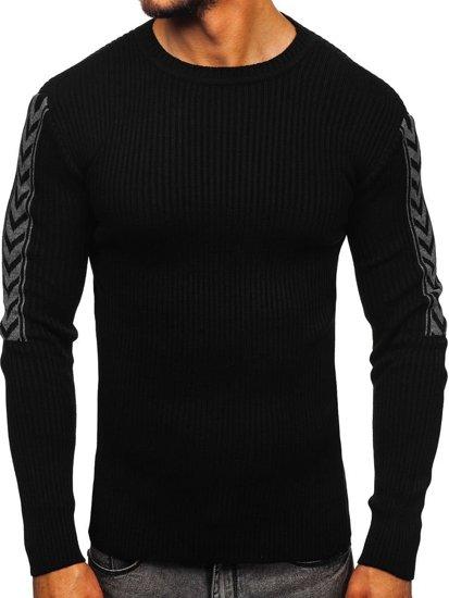 Černý pánský svetr Bolf 360