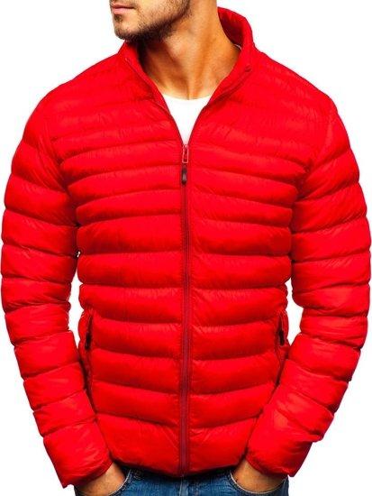 Červená pánská zimní bunda Bolf SM05