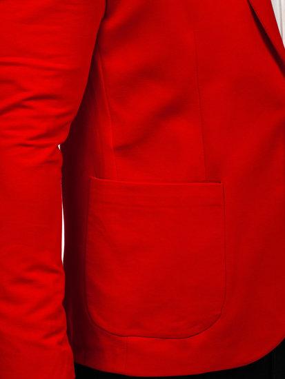 Červené pánské sako Bolf 1652