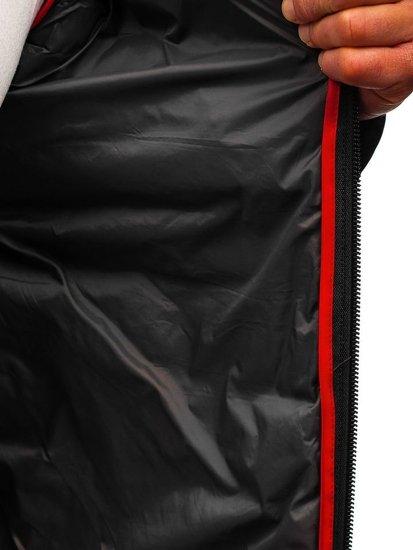 Grafitová pánská sportovní přechodová bunda Bolf LY1020
