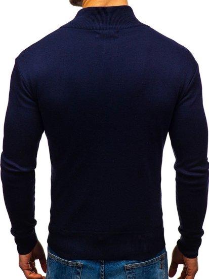 Inkoustově modrý pánský svetr Bolf BM6113