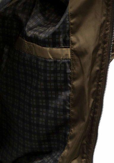 Khaki pánská přechodná bunda Bolf 57NA