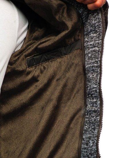 Khaki pánská zimní bunda Bolf A181