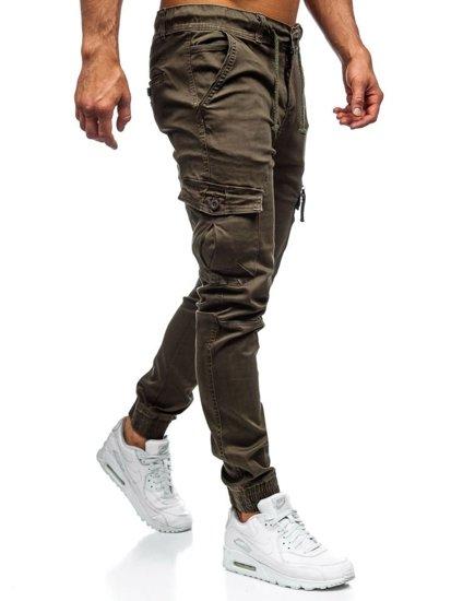 Khaky pánské jogger kapsáče Bolf KA528