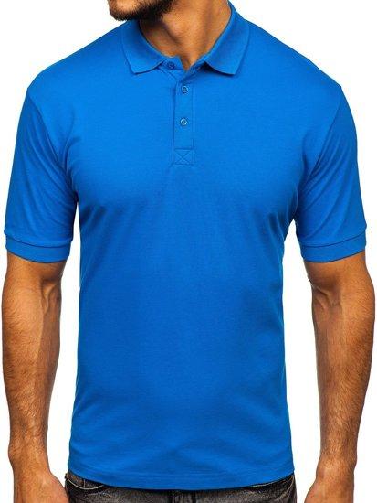 Modrá pánská polokošile Bolf 171221