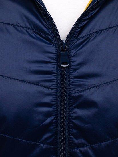 Modrá pánská sportovní přechodová bunda Bolf 138