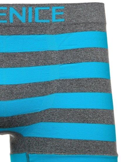 Modré pánské boxerky Bolf PL4327