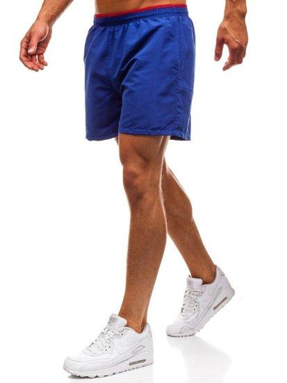 Modré pánské koupací šortky Bolf Y768