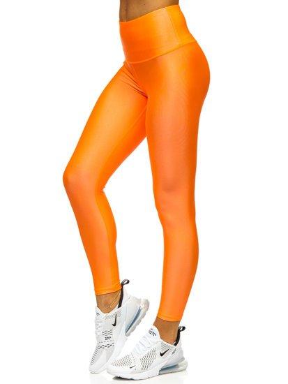 Oranžové dámské legíny Bolf YW06010